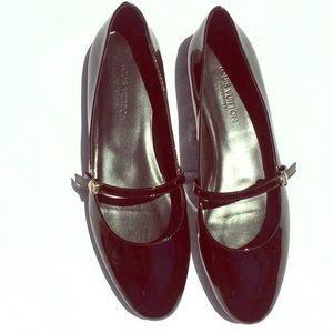 Louis Vuitton patnt uniformes ballerina flats 39/8